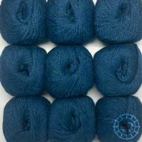 «Woolpack Yarn Collection» Baby Alpaka Bulky – Deep Ocean