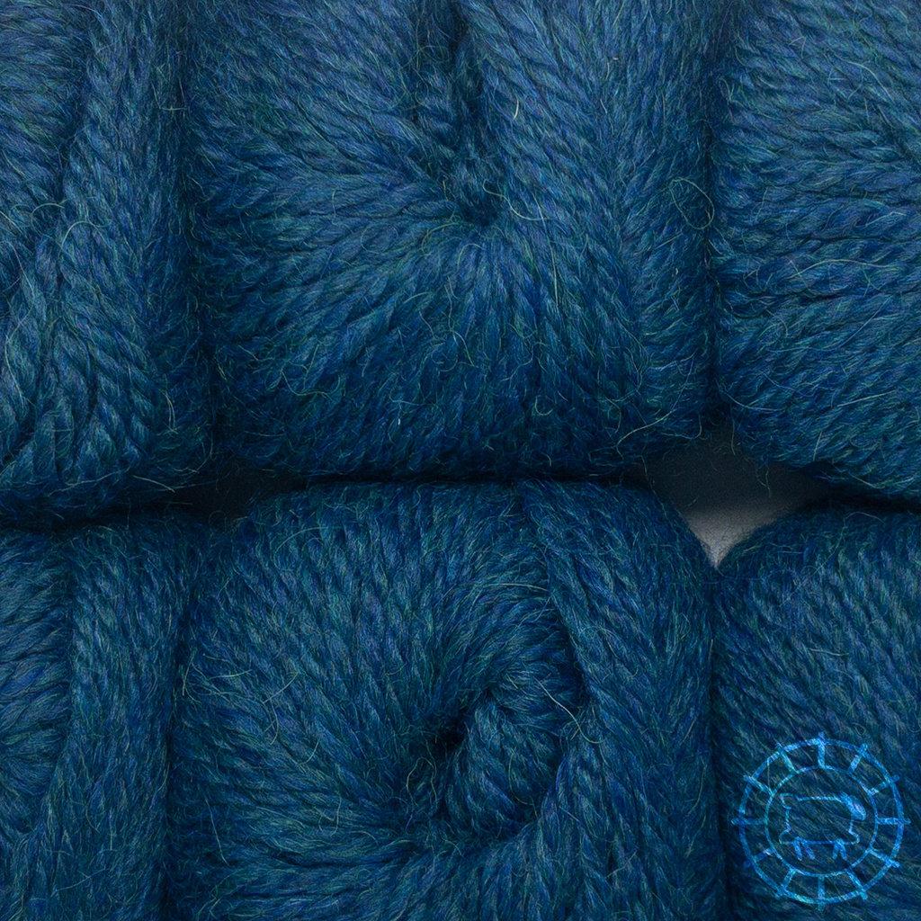 «Woolpack Yarn Collection» Baby Alpaca Bulky – Deep Ocean