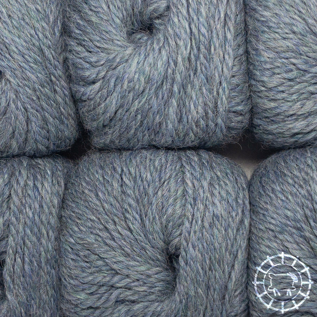 «Woolpack Yarn Collection» Baby Alpaka Bulky – Graublau