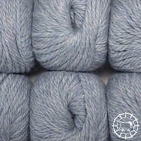 «Woolpack Yarn Collection» Baby Alpaca Bulky – Bleu glacier
