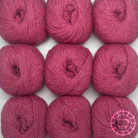 «Woolpack Yarn Collection» Baby Alpaca Bulky – Framboise