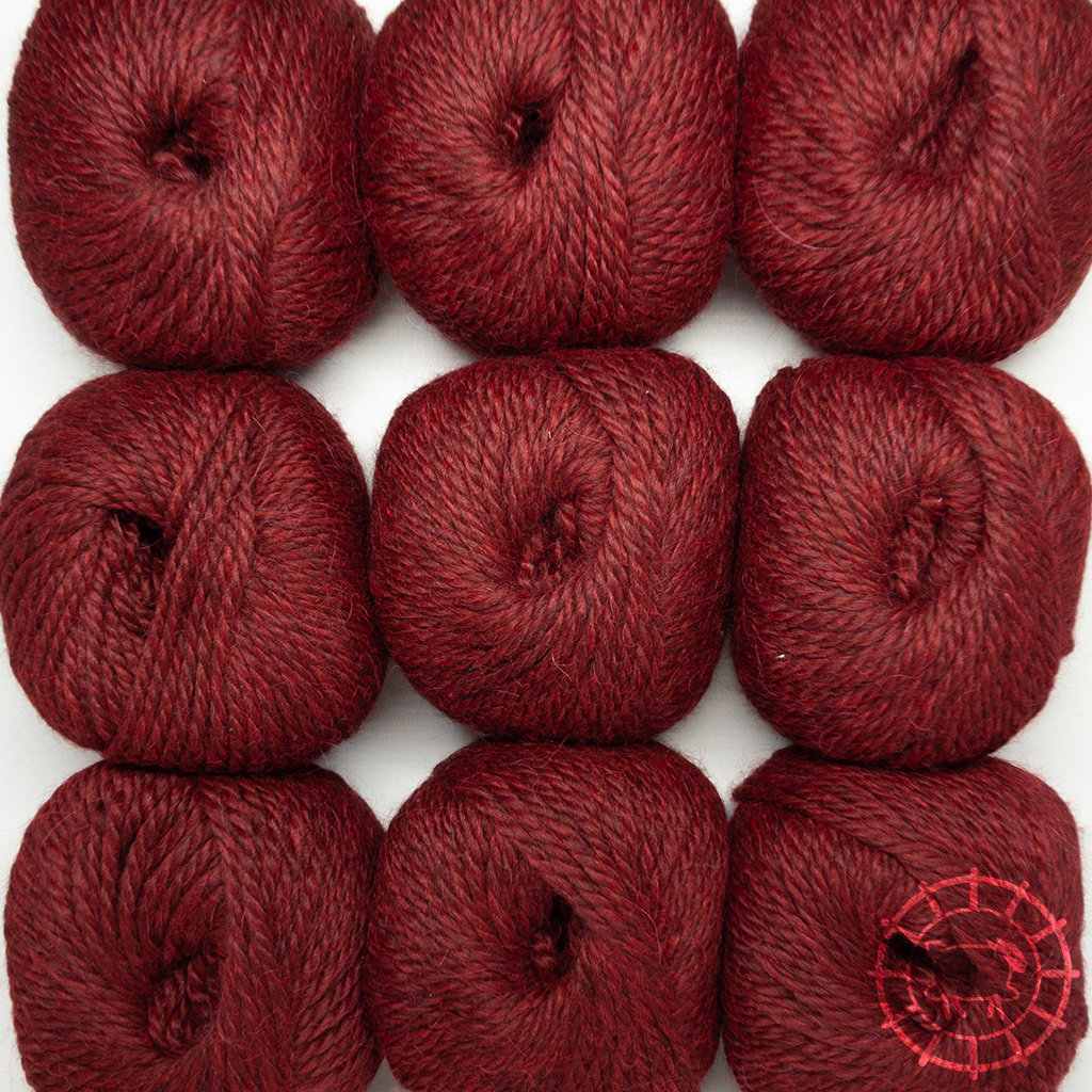 «Woolpack Yarn Collection» Baby Alpaka Bulky – Merlot