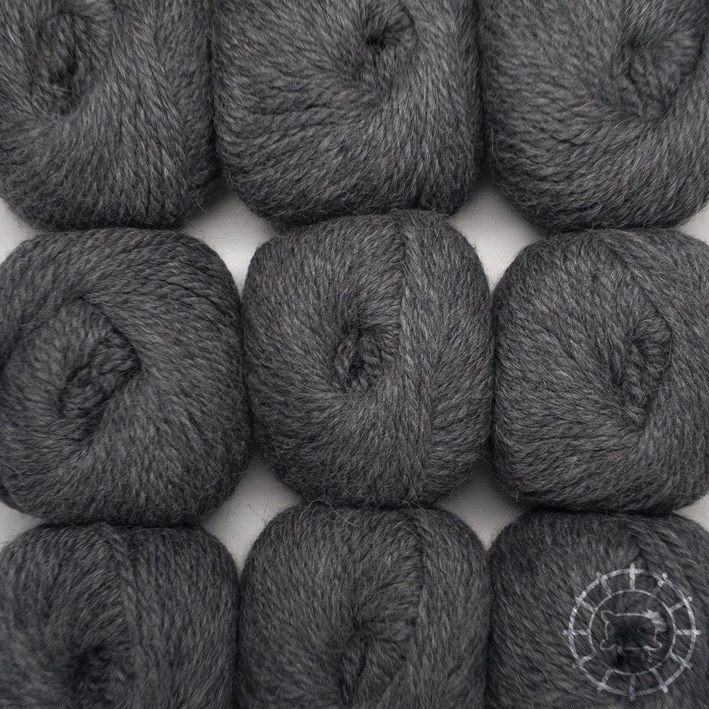 «Woolpack Yarn Collection» Baby Alpaka Bulky – Dunkelgrau