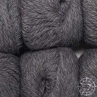 «Woolpack Yarn Collection» Baby Alpaca Bulky – Gris foncé