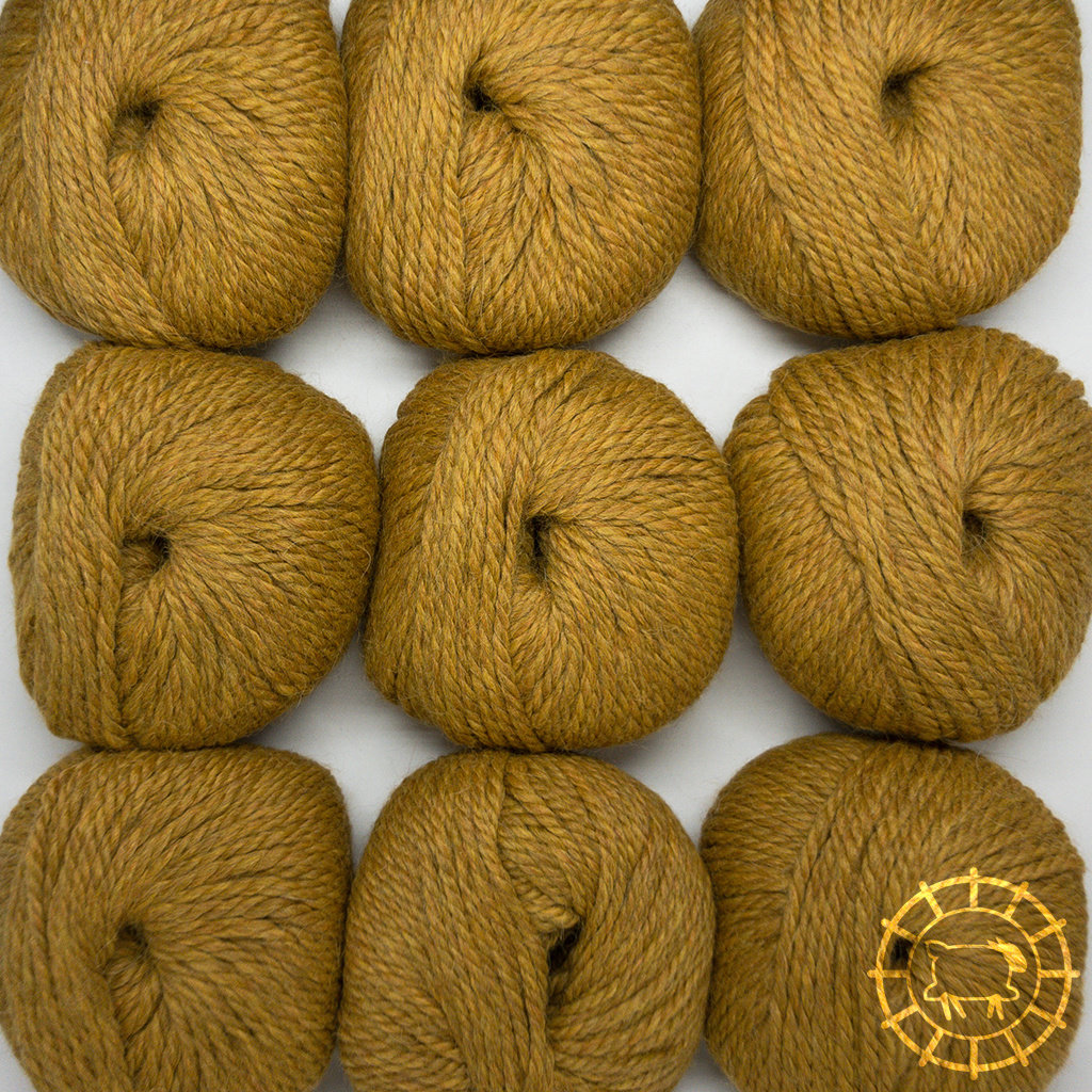«Woolpack Yarn Collection» Baby Alpaca Bulky – Curry