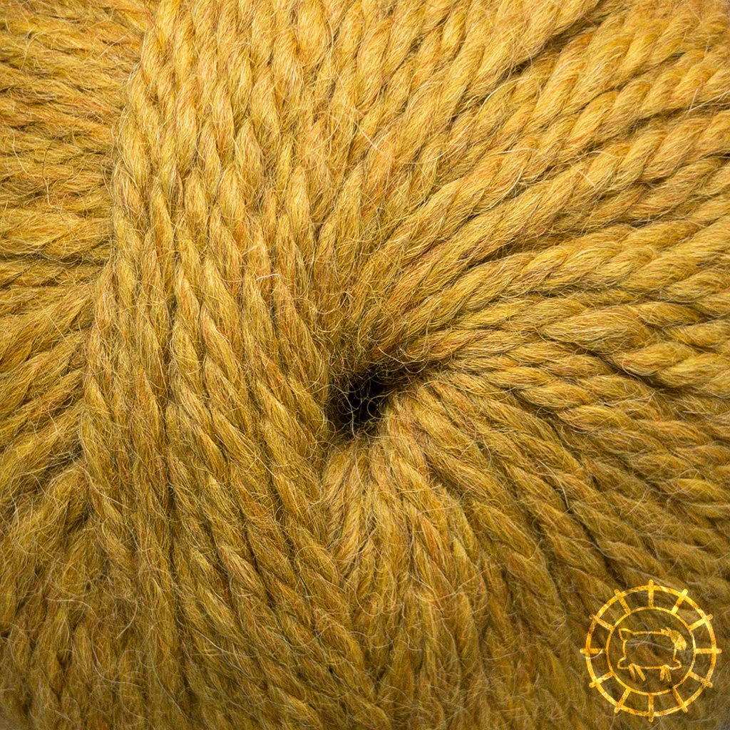 «Woolpack Yarn Collection» Baby Alpaka Bulky – Curry