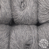 «Woolpack Yarn Collection» Baby Alpaca Bulky – Gris clair