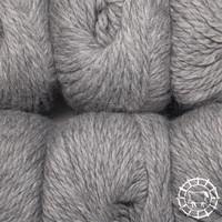 «Woolpack Yarn Collection» Baby Alpaka Bulky – Hellgrau