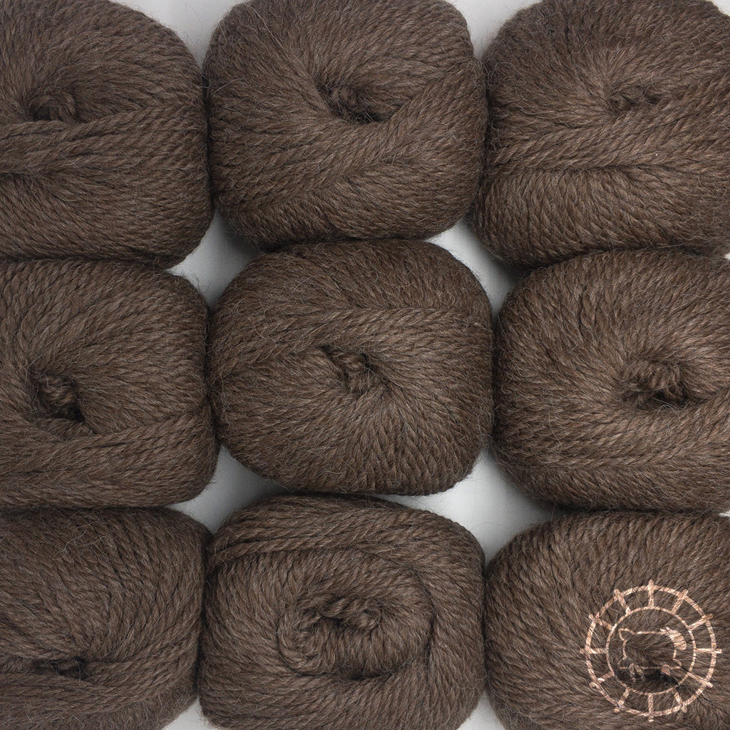«Woolpack Yarn Collection» Baby Alpaka Bulky – Camel