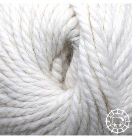 «Woolpack Yarn Collection» Baby Alpaka Bulky, ungefärbt – Schäfchenweiss