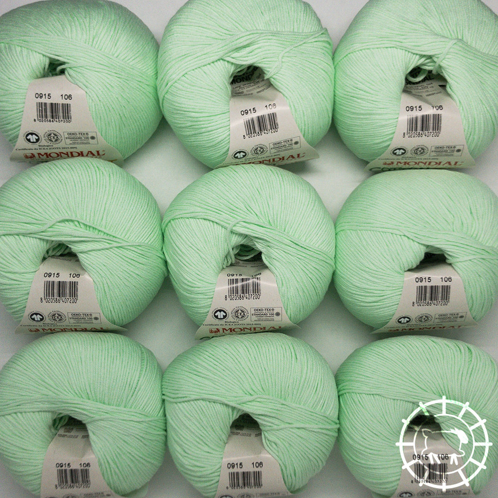 «Lane Mondial» Cotton Soft Bio – Pistache