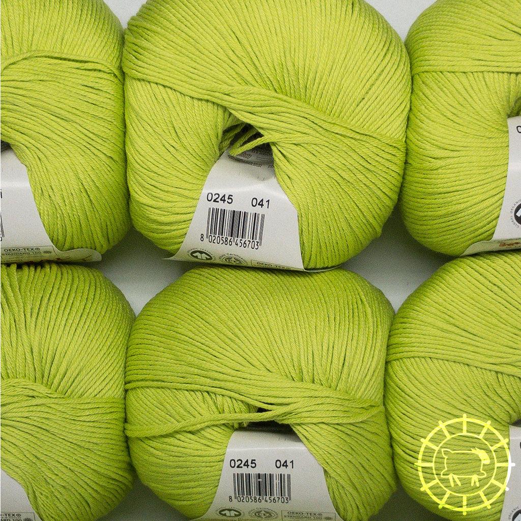 «Lane Mondial» Cotton Soft Bio – Hellgrün