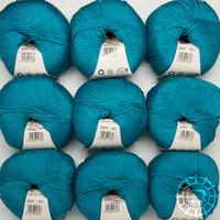 «Lane Mondial» Cotton Soft Bio – Türkis