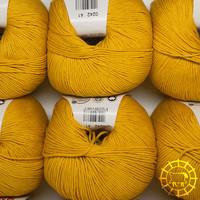«Lane Mondial» Cotton Soft Bio – Safran