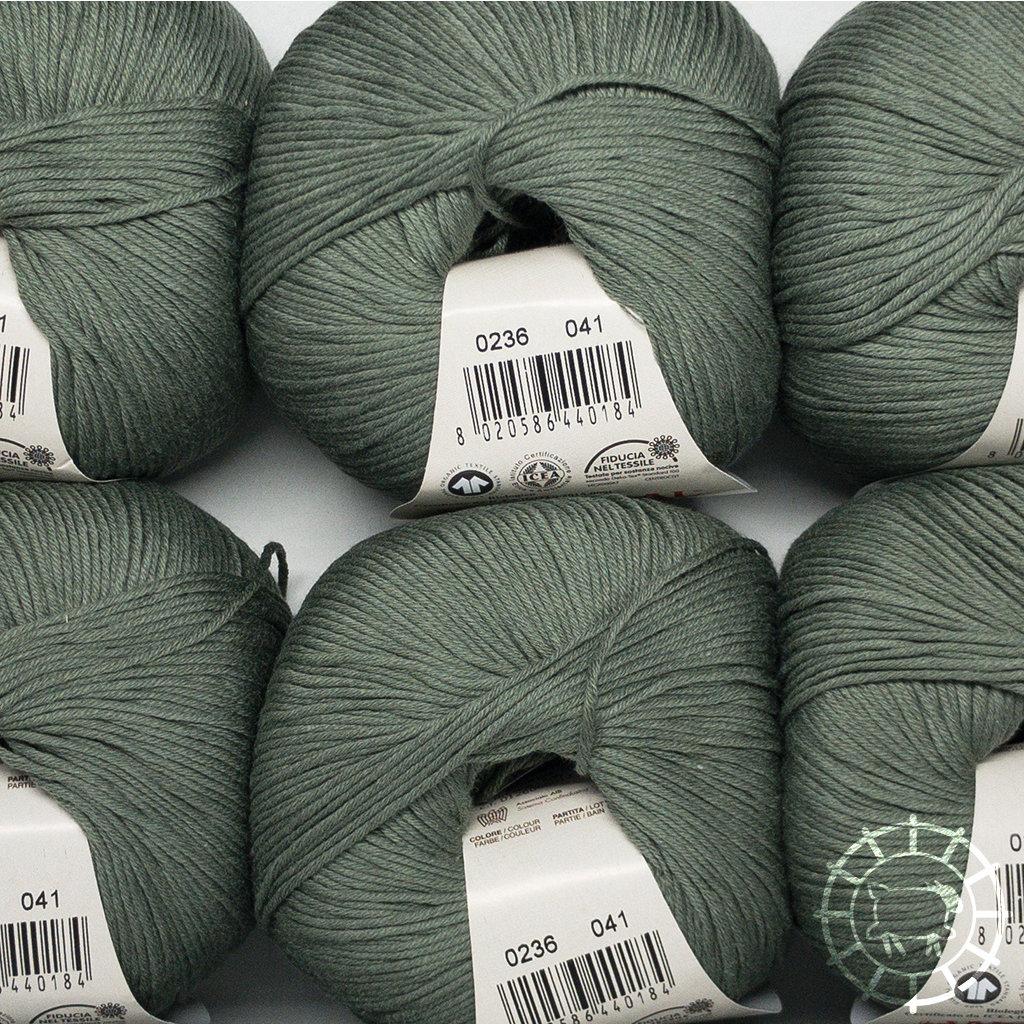 «Lane Mondial» Cotton Soft Bio – Oliv