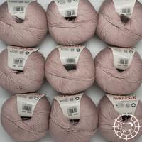 «Lane Mondial» Cotton Soft Bio – Rose poudre
