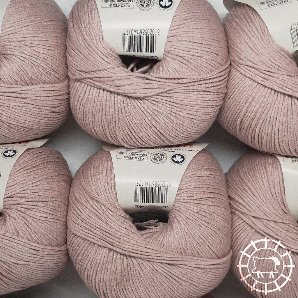 «Lane Mondial» Cotton Soft Bio – Puderrosa