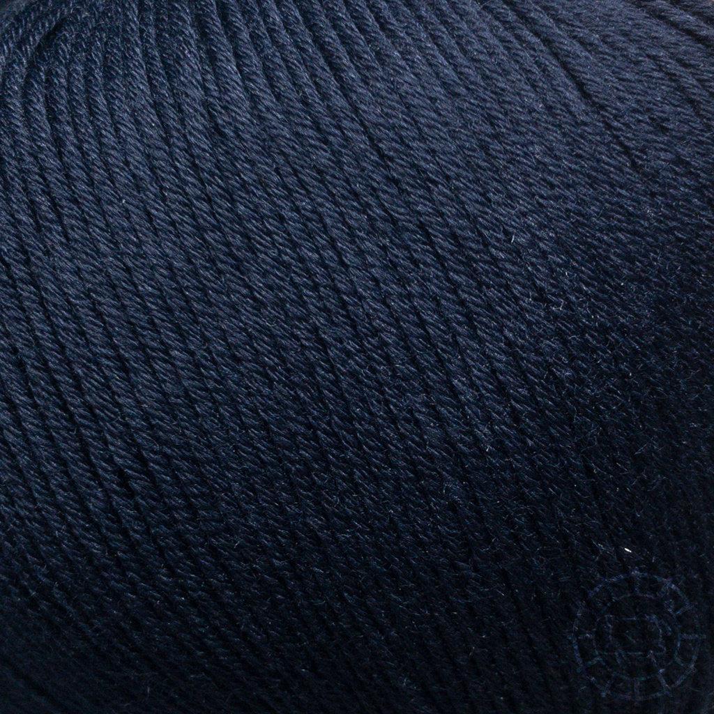 «Lane Mondial» Cotton Soft Bio – Blu Marino