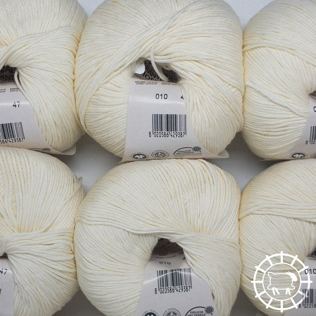 «Lane Mondial» Cotton Soft Bio – Panna