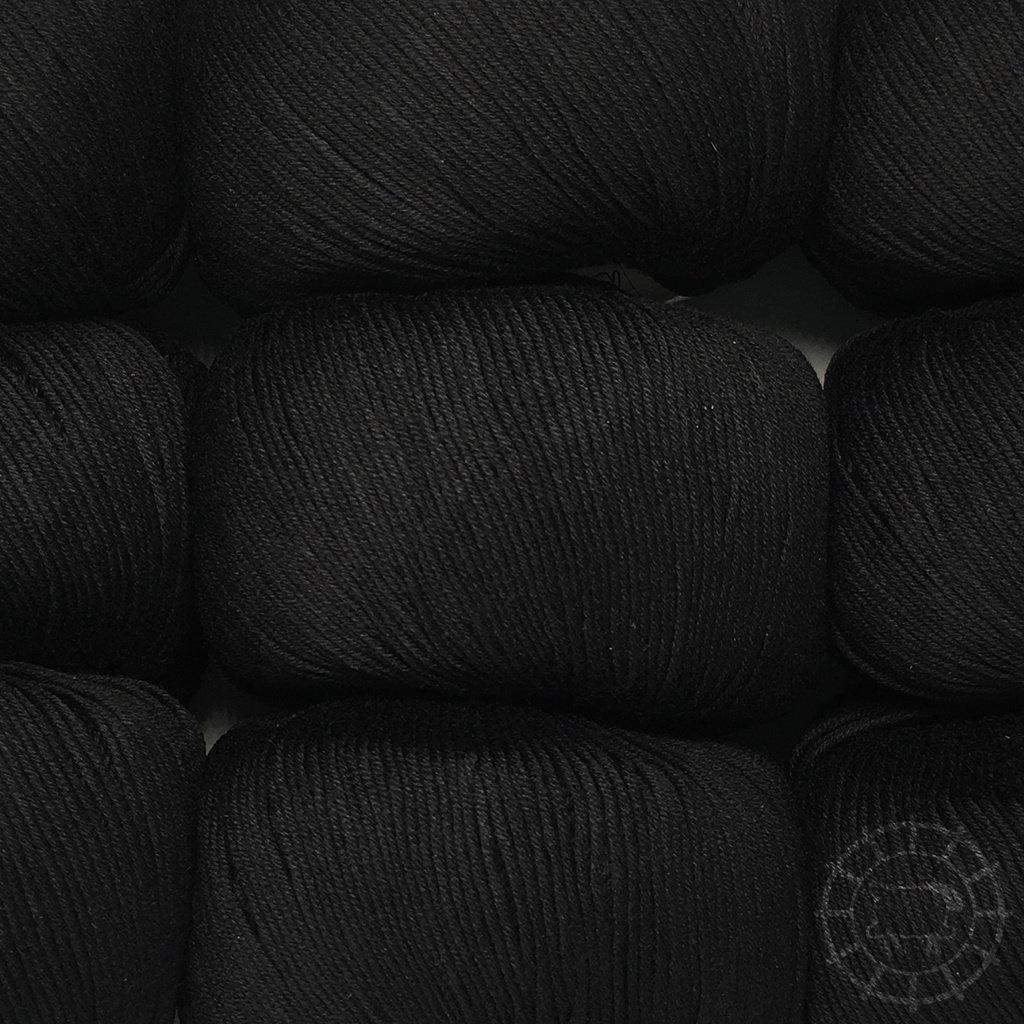 «Lane Mondial» Cotton Soft Bio – Nero