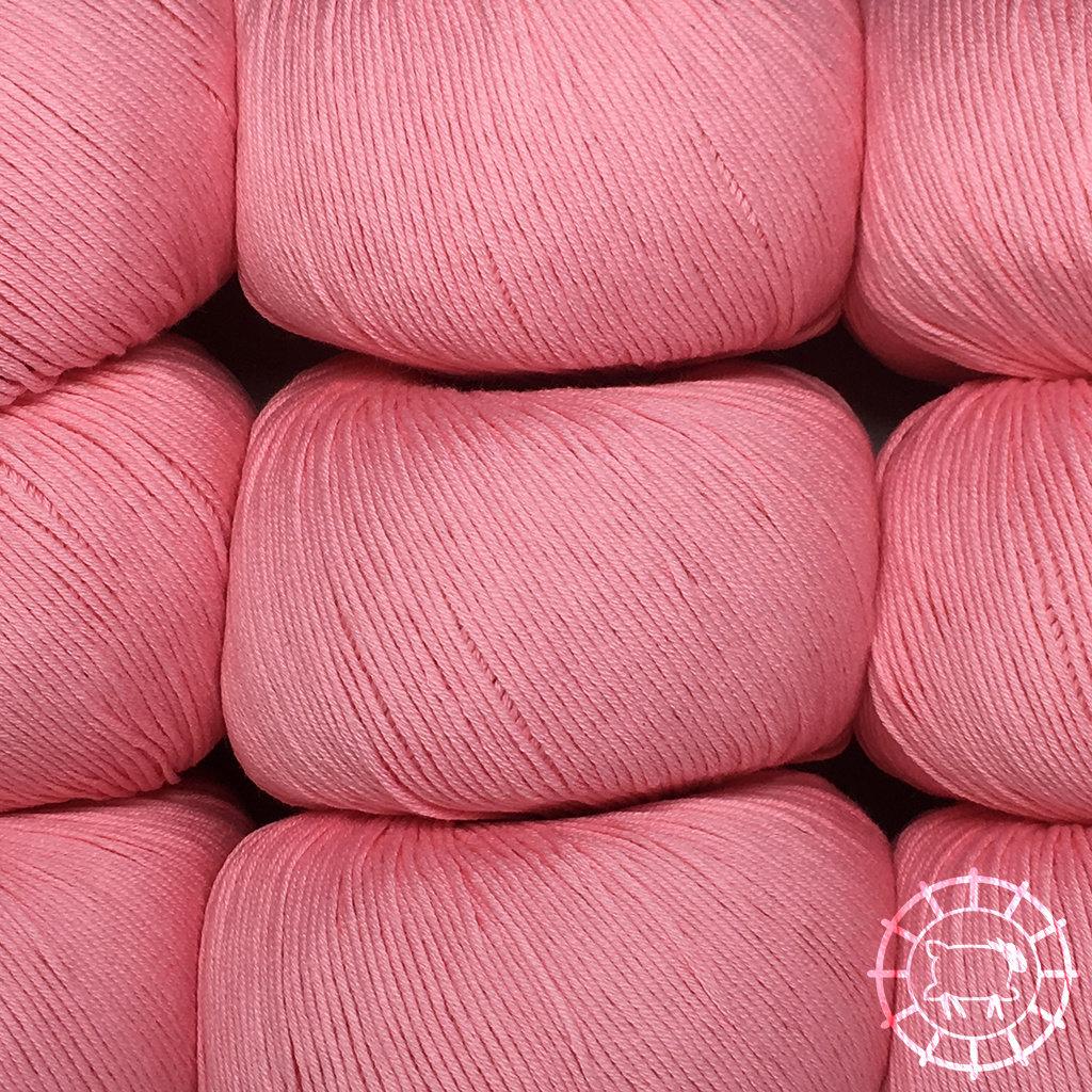 «Lane Mondial» Cotton Soft Bio – Fenicottero, das Rosa des Flamingos