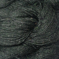 «BC Garn» Tussah Tweed – Blueday Mix, ein tiefes, metallenes Petrol
