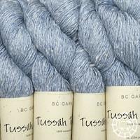«BC Garn» Tussah Tweed – Lichtblau, verspieltes Hellblau