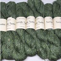 «BC Garn» Tussah Tweed – Green Garden, nachmittags im lauschigen Garten