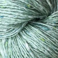 «BC Garn» Tussah Tweed – Aqua Mix hell, ein helles Wassergrün