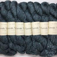 «BC Garn» Tussah Tweed – Ocean Royal Mix, geheimnisvolles Petrol