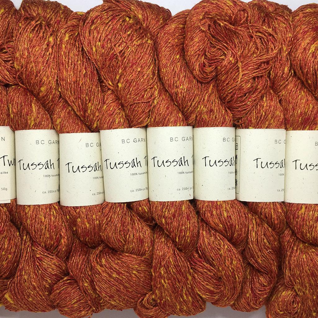 «BC Garn» Tussah Tweed – Mandarine