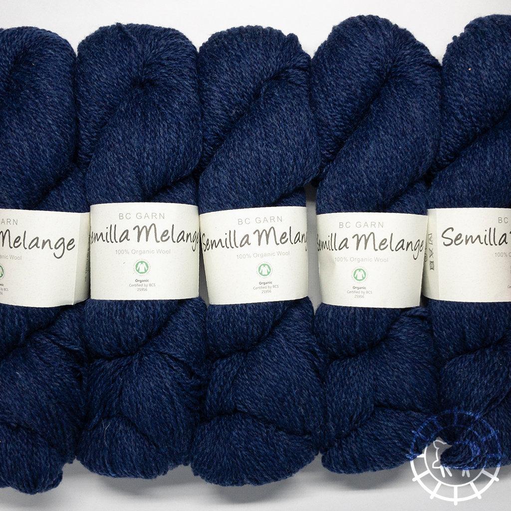 «BC Garn» Semilla Melange – Bleu foncé