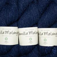 «BC Garn» Semilla Melange – Dunkelblau