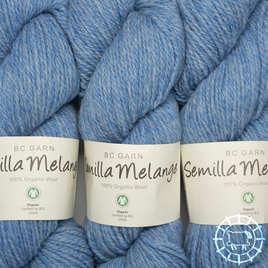 «BC Garn» Semilla Melange – Hellblau