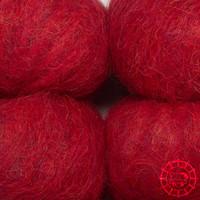 «Apu Kuntur» – Alpaca. Our Passion. Alpaca Laine câline – Rouge