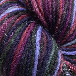 «Apu Kuntur» – Alpaca. Our Passion. Sockenwolle multicolor – Violett-Lila