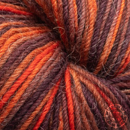 «Apu Kuntur» – Alpaca. Our Passion. Sockenwolle multicolor – Kupfer-Orange