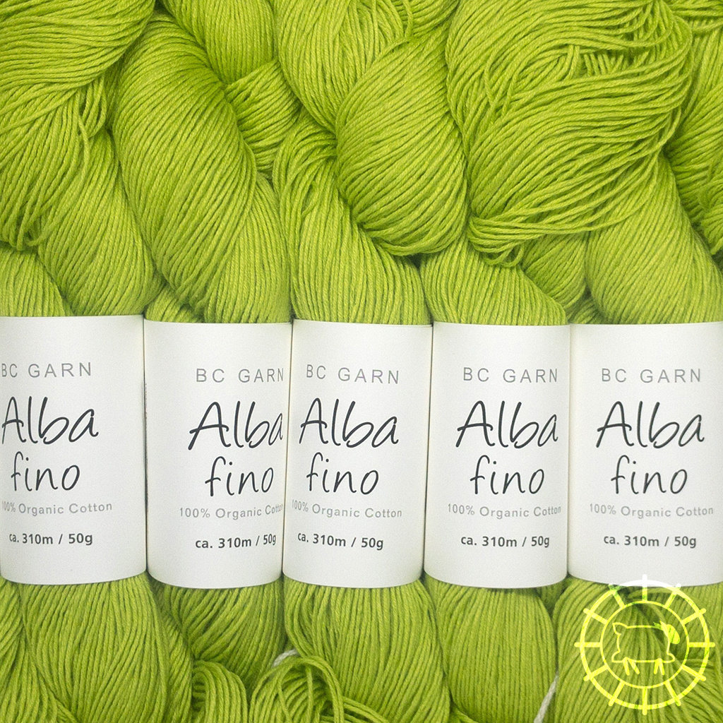 «BC Garn» Alba Fino – Apfelgrün