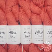 «BC Garn» Alba Fino – Orange foncé