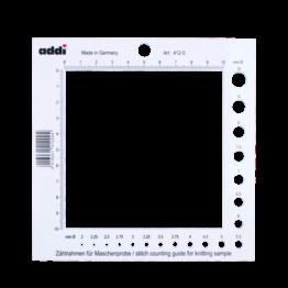 «addi» – Made in Germany «addi» Compteur pour échantillon plus gabarit pour aiguilles