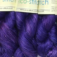 «Eco-Stitch» Linen 4ply, Sport – Royal Purple, königliches Violett