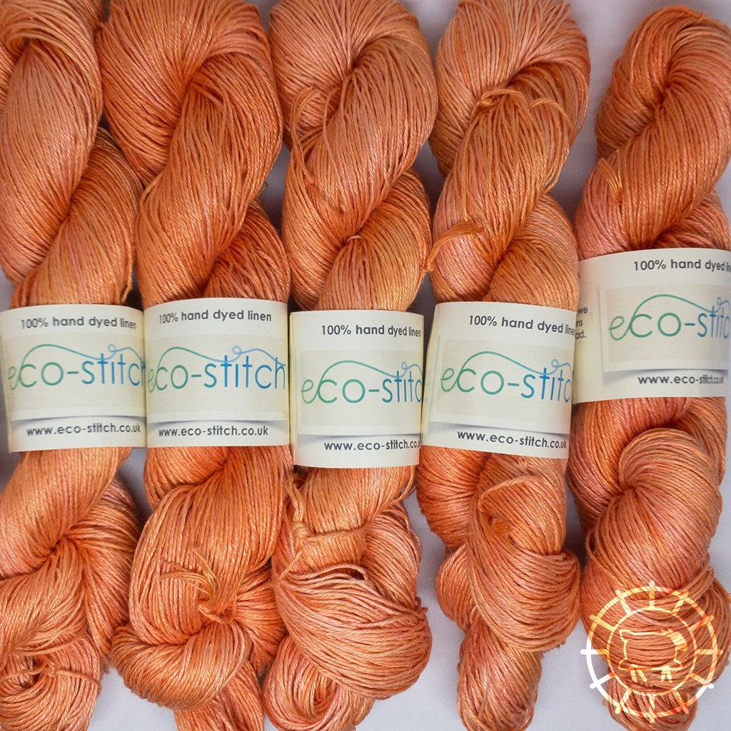 «Eco-Stitch» Linen 4ply, Sport – Tangerine, Mandarinchen-Orange