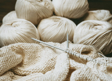 Garne mit Baumwolle