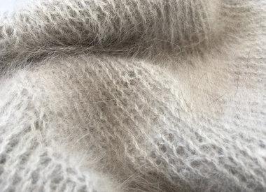 Les fils en laine d'angora