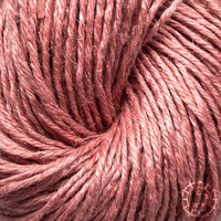 «Ecobutterfly Organics» Organic Linen 7/4 –Adobe Rose