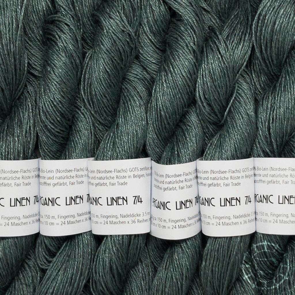 «Ecobutterfly Organics» Organic Linen 7/4 –Sea Storm