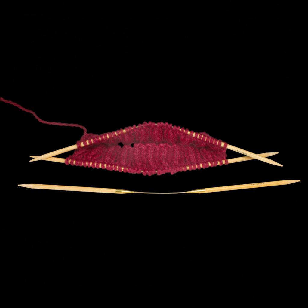 «addi» – Made in Germany «addiCraSyTrio» Bamboo Long 7 mm, 3er-Set Rundstricknadeln, 30 cm