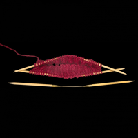 «addi» – Made in Germany «addiCraSyTrio» Bamboo Long 8 mm, jeu de 3 aiguilles circulaires, 30 cm
