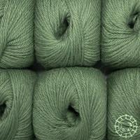 «Woolpack Yarn Collection» Baby Alpaca DK – Vert kaki