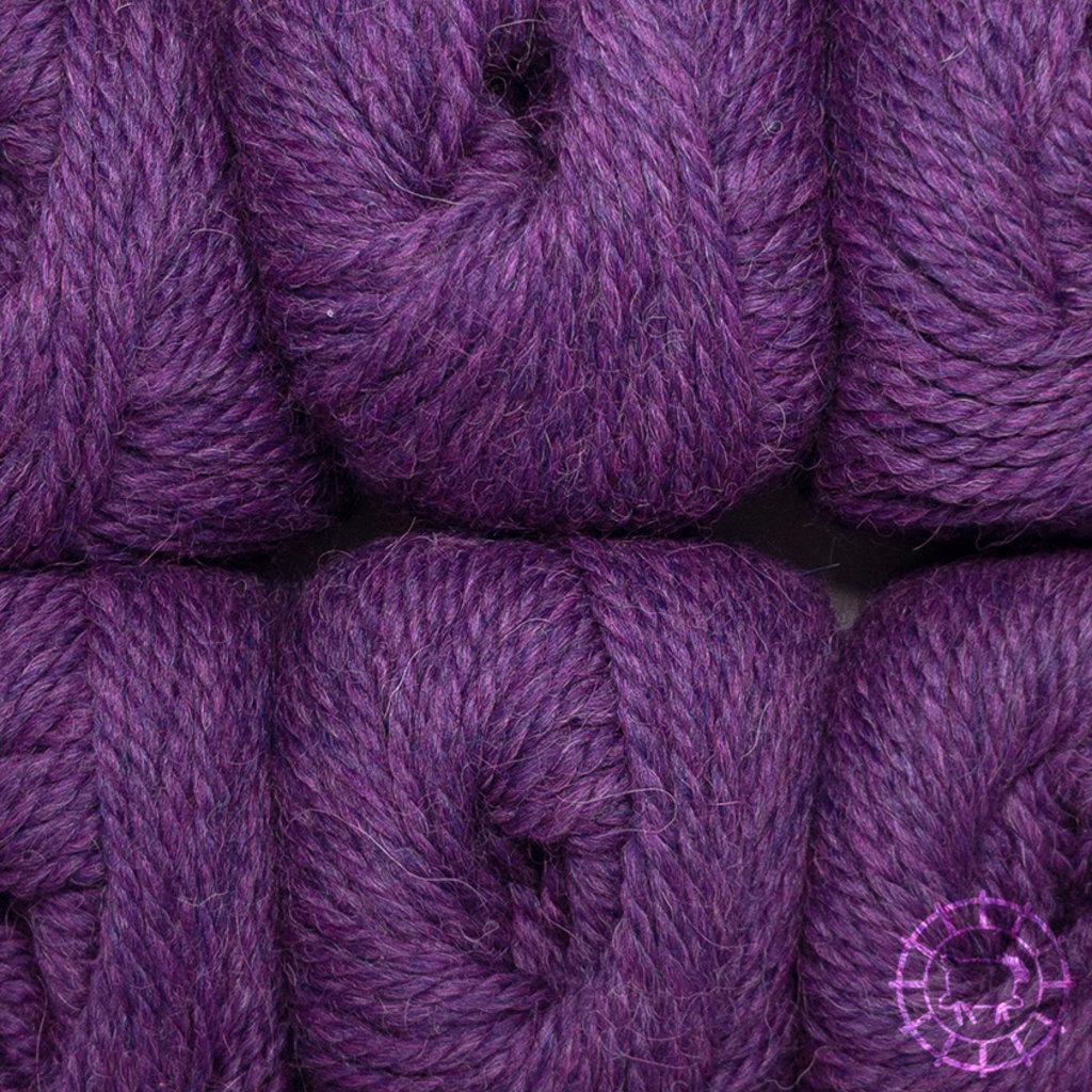 «Woolpack Yarn Collection» Baby Alpaka Bulky – Rotviolett